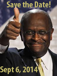 savet he date for herman cain