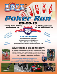 HOPE Park Miracle League Poker Run
